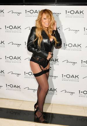 Mariah Carey at 1 OAK, June 25