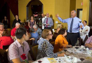 Taste and learn about Italian wine at Ferraro's.
