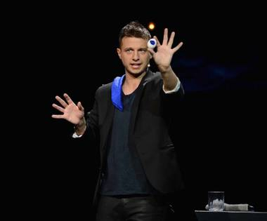 Mat Franco in action.