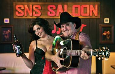 "There's a whole lotta happy at ""the last real honky-tonk"" in Vegas."