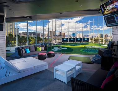 Topgolf is a natural selection for a guys' night out.
