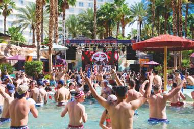 Dee Jay Silver kicked off Independence Day weekend at Rehab at Hard Rock Hotel.