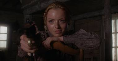 Francesca Eastwood in Outlaws and Angels.