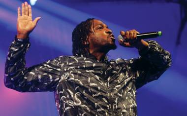 Pusha brings a barrage of aggressive, highly crafted songs into any live performance.