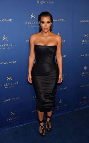 Kim Kardashian West at Hakkasan, July 22
