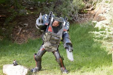 The star will be in town this weekend for the film's premiere pool party at the Stratosphere.