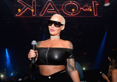 Amber Rose is back to host at 1 OAK this weekend.
