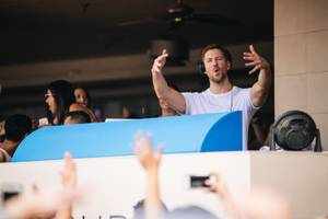 Calvin Harris at Wet Republic, July 30