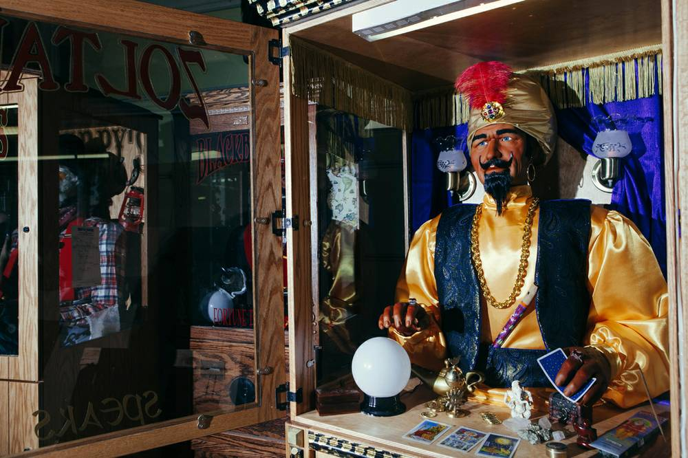 Halloween Fortune Teller Animatronic.A Boulder City Family Has Turned Character Building Into Big