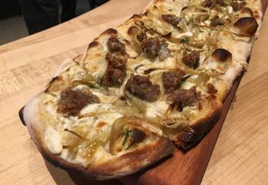 Libertine Social has a series of flatbreads to explore.