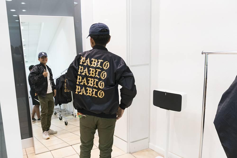 73612a56de57c Kanye takes Vegas with his Pablo pop-up shop at Fashion Show - Las ...