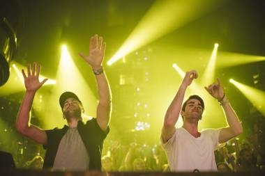 The Chainsmokers return to Jewel this week.