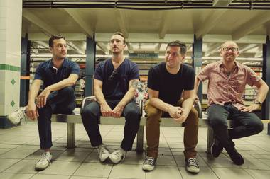 The Menzingers open for Bayside at Brooklyn Bowl on September 9.