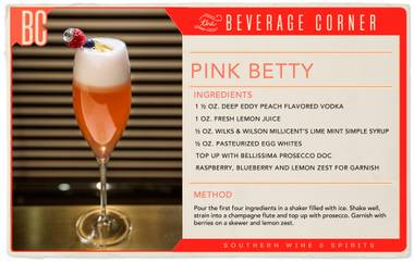 More swanky cocktail party, less pool-side barbecue—this drink is perfect for the transition between summertime and autumn