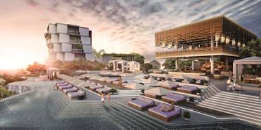 The first Omnia Dayclub is planned for the Cliff at Alila Villas Uluwatu.