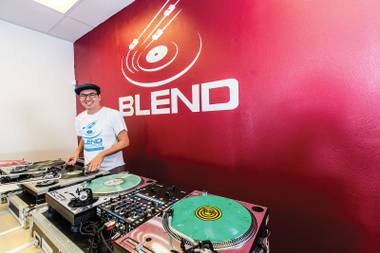 Blend offers beginner and advanced courses, sells new and used DJ gear and can assist with repairs, production and marketing.