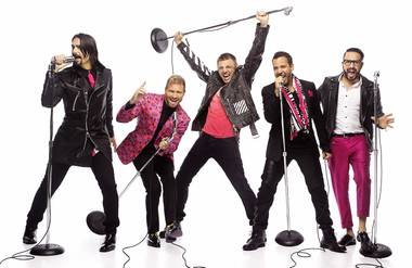 BSB joins Britney with a new show at the Axis theater.