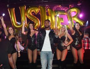 Usher at 1 OAK, September 24