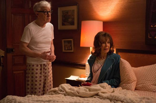 "Woody Allen and Elaine May in Amazon TV's ""Crisis in Six Scenes."""