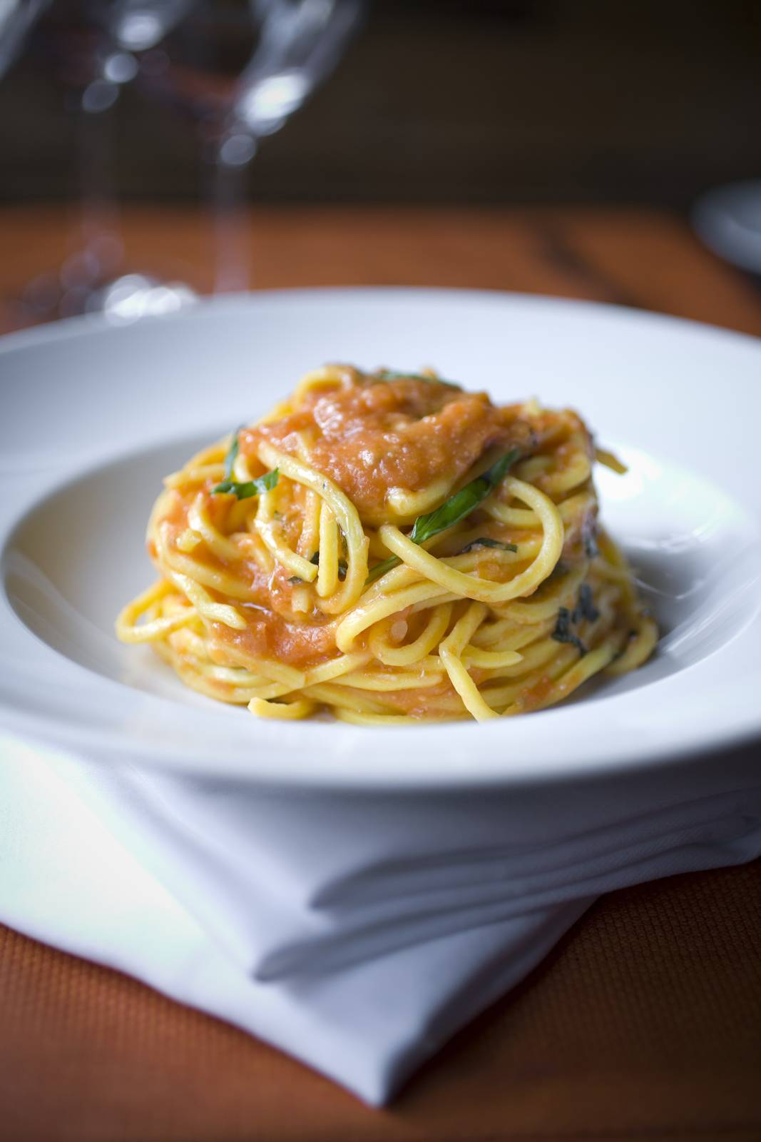 Cooler weather means hearty food ... and pasta.