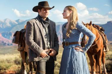 J.J. Abrams and crew have come up with a somber, thoughtful and sometimes pretentious meditation on the nature of consciousness, along with Wild West gunfights.