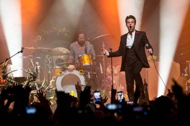 Vegas' rock royals thrillingly perform album No. 2 10 years after its release, at the casino-hotel that shares its name.