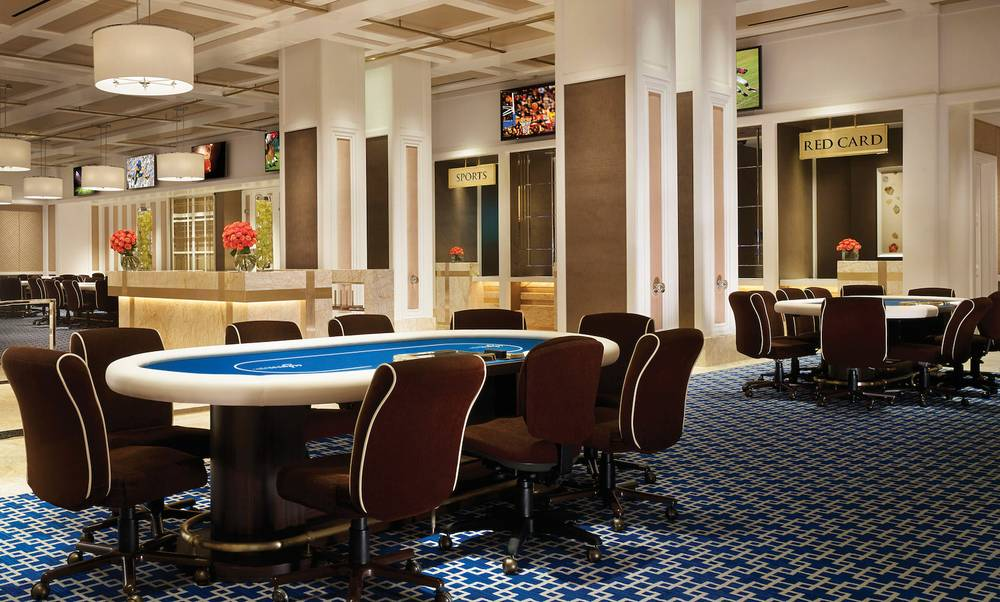 Encore Club Casino Style Poker Room