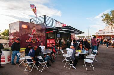 What was a beverage kiosk has quickly become a real mobile venue.