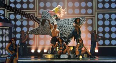 Britney: Piece of Me returns to the Axis at Planet Hollywood this week.