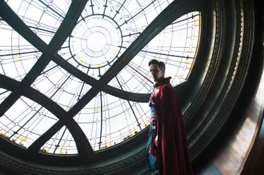 Benedict Cumberbatch is Doctor Strange.