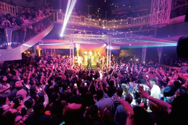 Live music has added a new dimension to Latin nightlife at Embassy.