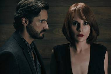 Michelle Dockery and Juan Diego Botto team up in Good Behavior.