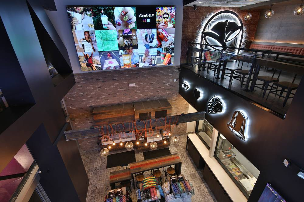 Swanky Taco Bell Cantina opens November 14 on the Las Vegas Strip