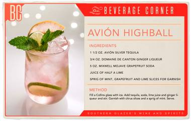This upscale highball recipe is an intricate blend of refreshing and unexpected flavors.