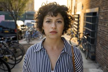 Alia Shawkat plays aimless Brooklynite Dory.