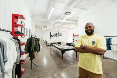 """We really like to disrupt things,"" Eddins says about his Downtown shop."