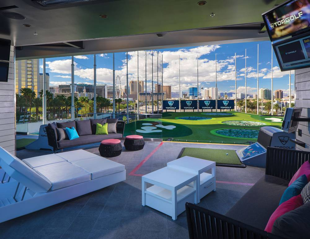 Topgolf S Vip Chairman S Suite Offers Unique Luxury Las
