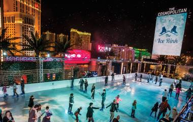 Strap on the skates and get some Vegas holiday fun in your life.