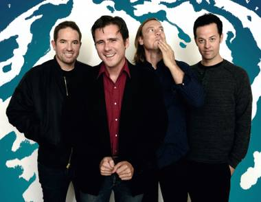 Jimmy Eat World plays the first night of Holiday Havoc.