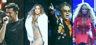 Ricky Martin, Jennifer Lopez, Elton John, Britney Spears … the Strip is an all-star production every weekend.