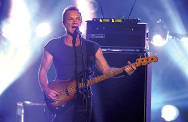 Sting rings in 2017 with a show at the Chelsea.