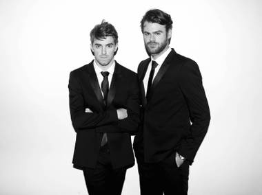 The DJ duo debuts at XS on Friday, January 6.
