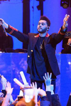 The Weeknd at Marquee for New Year's Eve, December 31