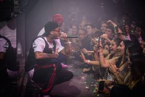 Tyga at Light, January 4