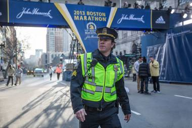 Mark Wahlberg is Boston police officer Tommy Saunders.