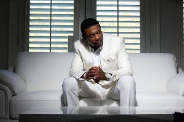 The R&B legend begins a special engagement at the Flamingo on January 17.
