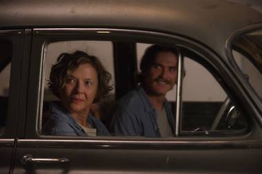 Annette Bening and Billy Crudup take a ride.