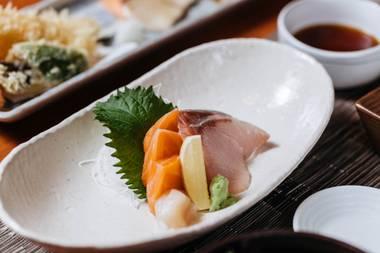 Chef Kaoru Azeuchi's specialty menus offer a one-of-a-kind experience in Las Vegas.