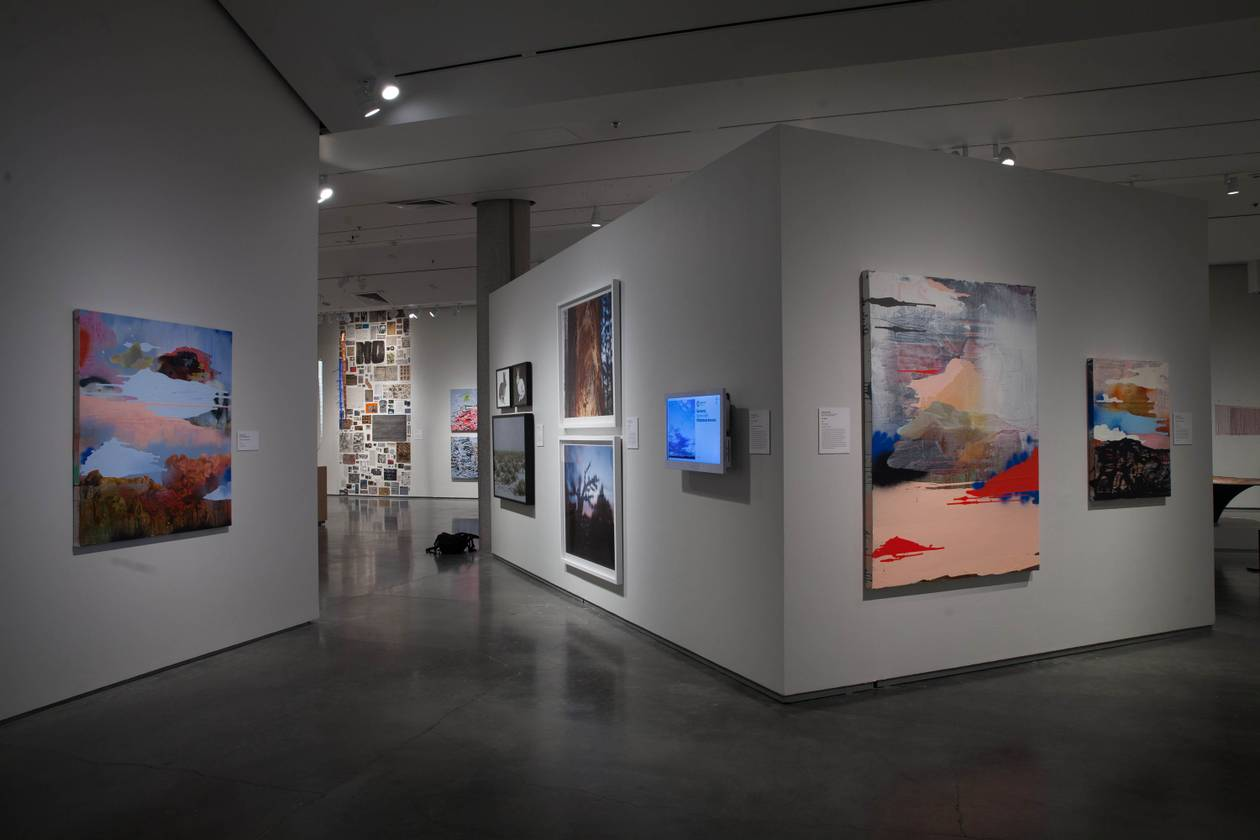 More than 30 Southern and Northern Nevada artists comprise the art exhibit, which debuts in Las Vegas on March 17.