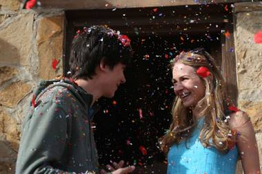 Asa Butterfield and Britt Robertson star.